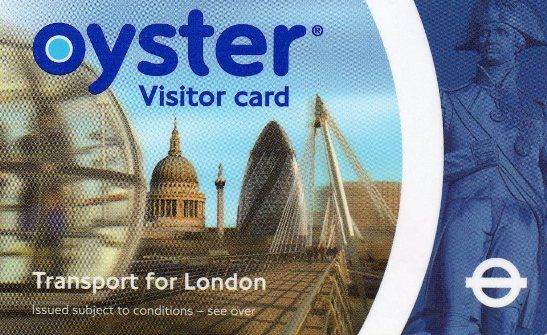 Oyster Card - London Underground Travel Card