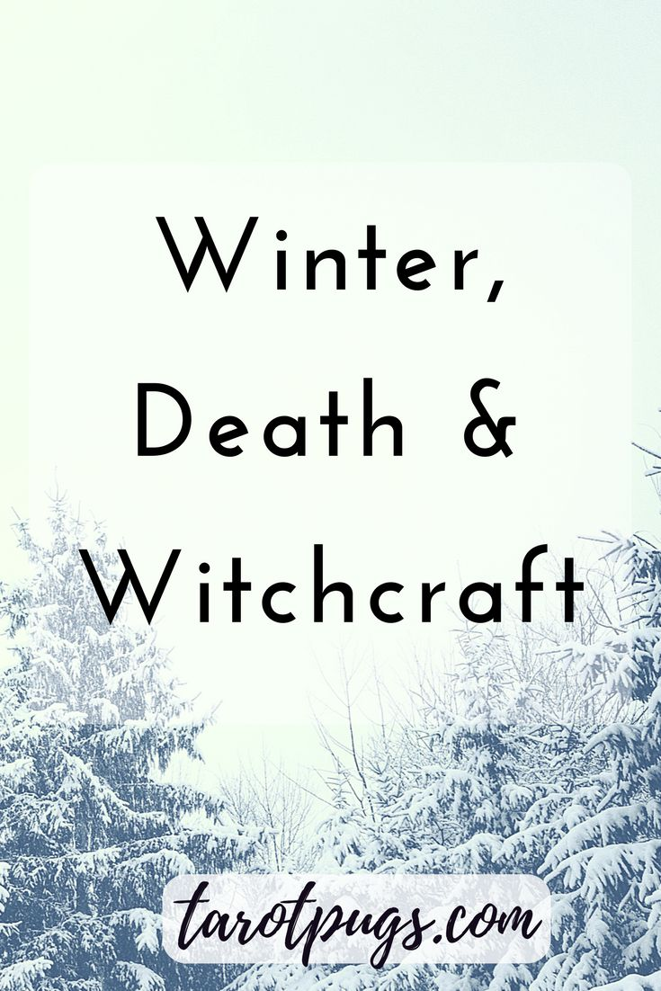 When Samhain ends, we turn to the next sabbat, Yule. In Slavic mythology and folklore, Morana is the goddess of winter, death and witchcraft. During winter, we can honour this time of year and use it to our advantage.