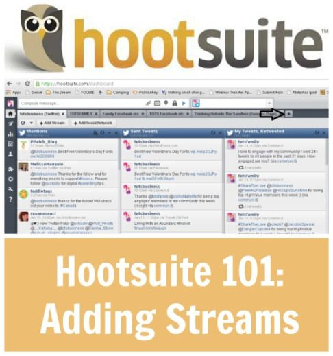 Hootsuite 101: Adding Streams