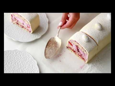NORWEGIAN CAKE, WITH LEMON & BLUEBERRY FILLING - YouTube