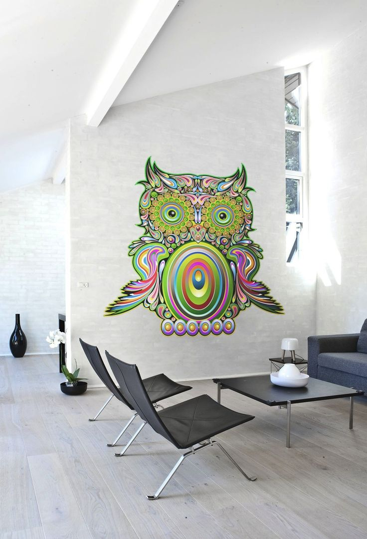 Unique Wall Murals with Any Style Colorful