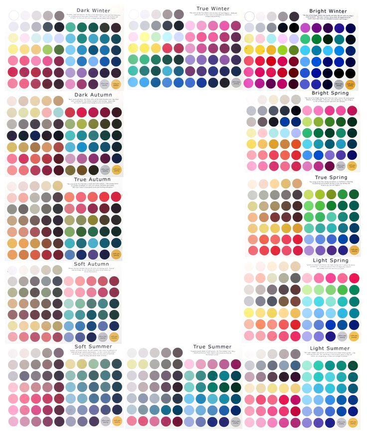 Colour Analysis.  I'm a dark winter, maybe a dark Autumn?