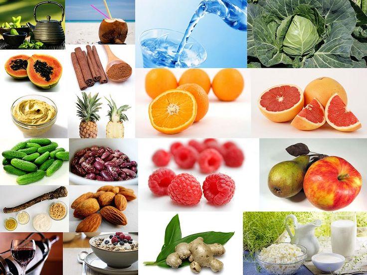Продукты для похудения очищают кишечник, улучшают пищеварение, что способствует избавлению от лишнего веса и стройности фигуры.