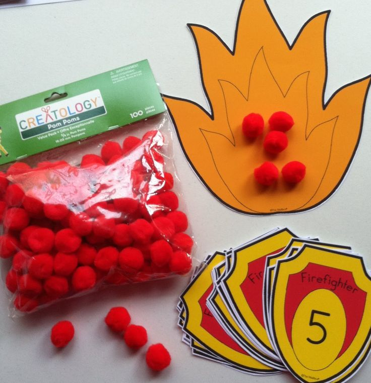 Fire Safety Counting Skills