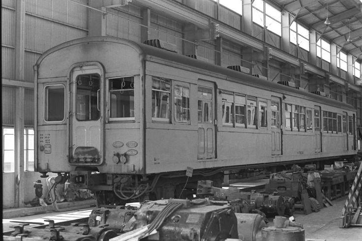 吊り掛け電車をもとめて 仙石線の73系電車 2 古い列車 電車 私鉄