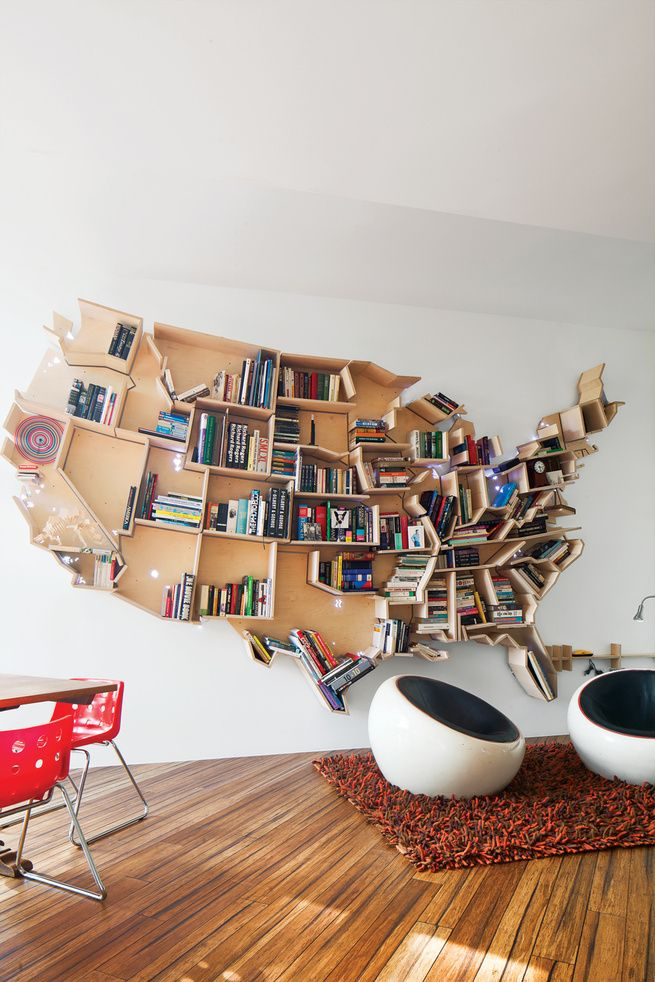 23 Creative Ways To Display Books In Your Place