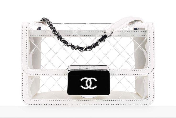 Chanel Transparent Flap Bag