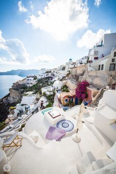 Beautiful Oia, Santorini, Greece. @thecoveteur