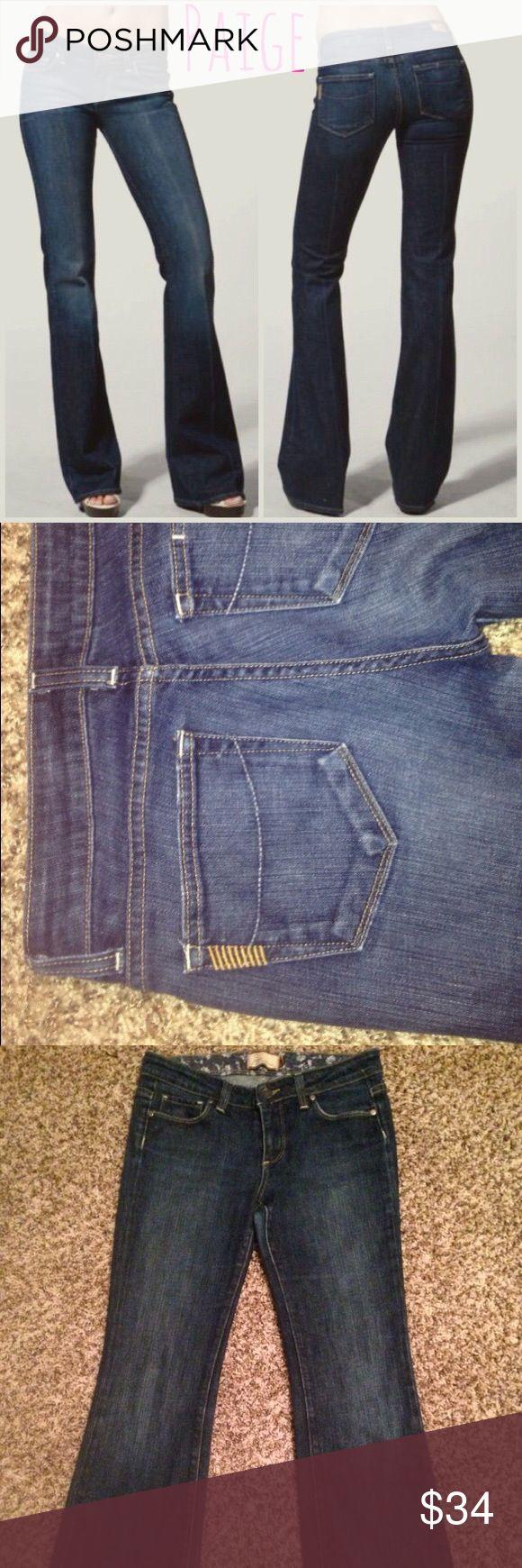 Paige Demin 🤑on sale!❤️dark wash Paige Jeans. Size 28 Paige Jeans Jeans Boot Cut