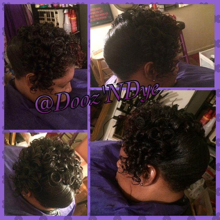 Hairstyles For Black Women Curls Updo Black Hair