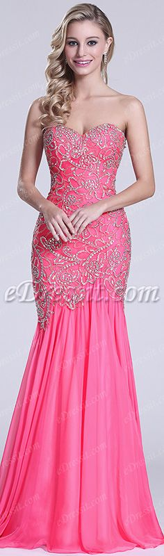 Hot pink, sweet and stunning! #edressit #dress #party #prom #fashion