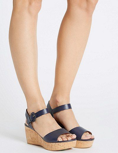 Wedge Heel Sandals with Insolia® | Marks & Spencer London