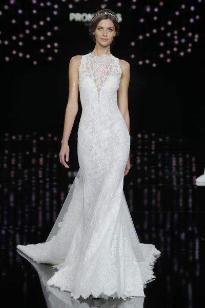 Vestidos de novia corte sirena 2017: 35 propuestas que te enamorarán Image: 27