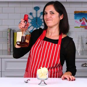 How to Make Eggnog Ice Cream | Nicole shows us how to whip up some delicious holiday-inspired ice cream, featuring eggnog and bourbon.