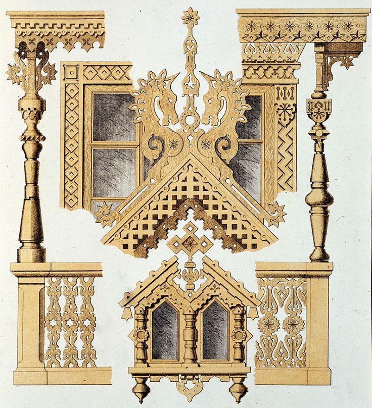Motifs of Ancient Russian Architecture. Paris Universal Exposition, 1878