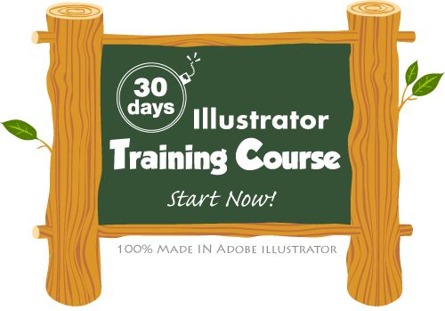 Very cool way to learn Adobe Illustrator.