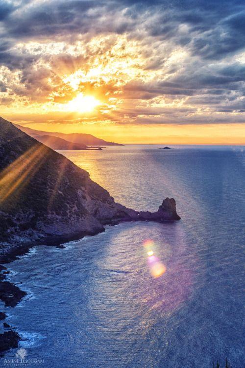 """Cap Carbon Sunset, Bejaia, ALGERIA (by Amine GOUGAM) """""""