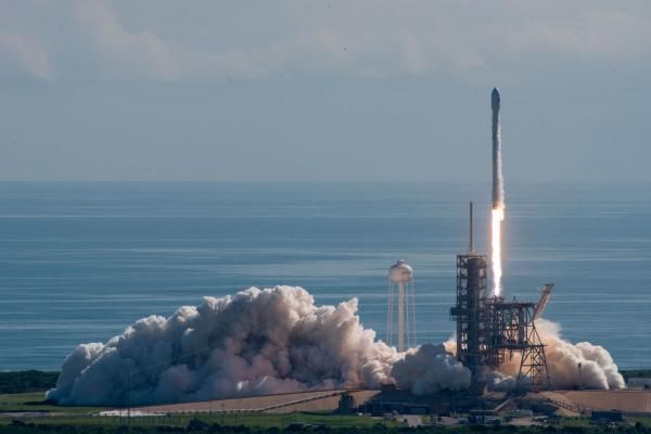 Watch live: SpaceX's Falcon 9 to launch satellite, land on droneship: SpaceX is preparing to carry another communications satellites into…