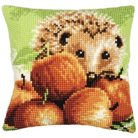 Needlepoint Pillow Decoration Perhaps Crossword : 90 best Autumn s Bountiful Harvest images on Pinterest Bountiful harvest, Cross stitches and ...