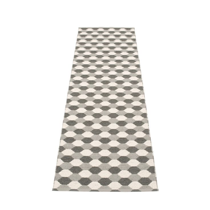 Dana - Warm Grey · Charcoal · Vanilla, Plastmatta 70 cm bred. Skapad med passion…