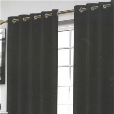 Wessex Black Eyelet Curtains
