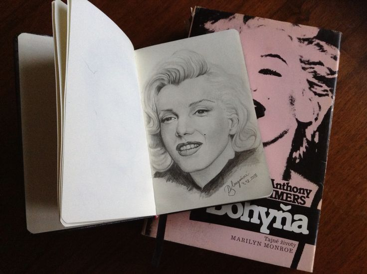 #art #marilynmonroe #drawing #pencils #2015 #mysketchbook