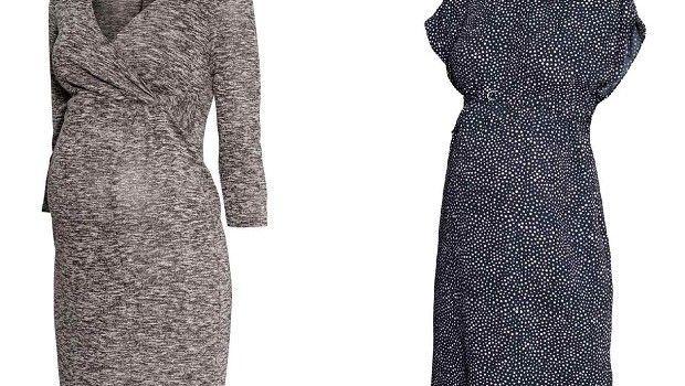 La moda H&M premaman per l'autunno-inverno 2014-2015, abiti per ogni occasione