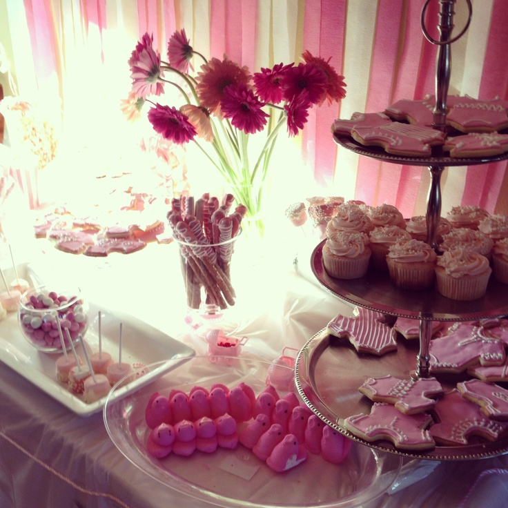 girl baby shower snack bar more girl baby showers baby shower ideas