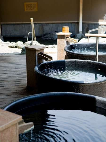 Best business talks are done in #Japanese #onsen — Japanese spa hotel.