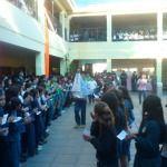 Marcha por la vida del Colegio Guadalupe