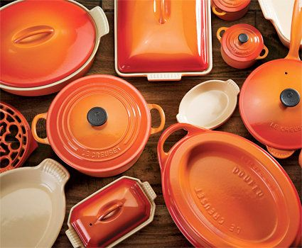 Who doesnt love La Crueset. Id love to have the whole set one day, or any of it in fact!
