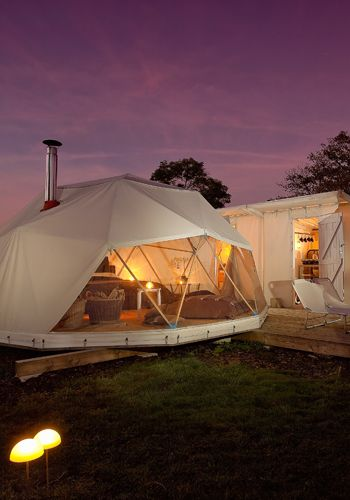 Glamping - my kind of rough in it