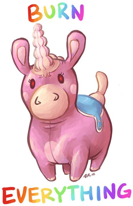 What if the balloonicorn is possessed? And makes Pyro crazy.