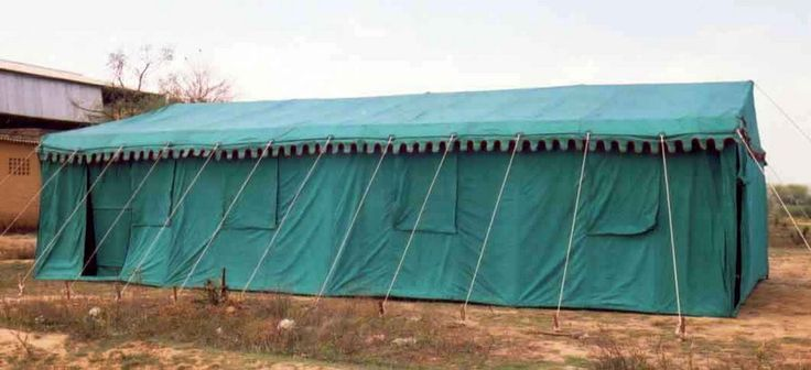 Army Hospital Tent that we supplied to the Army during the Kargil War.