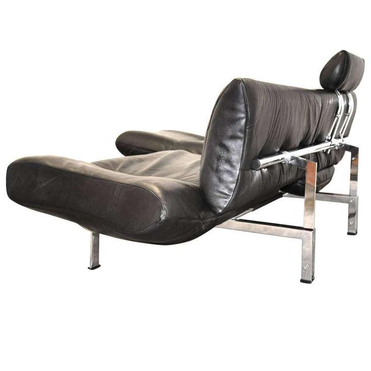 Vintage Swiss De Sede Sofa or Chaise Longue, 1980s 1