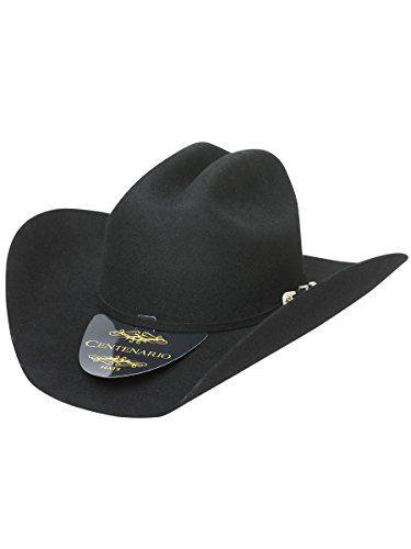 Texana Centenario 10X - Julion (SH) Pelo con lana Conejo Negro ID 40489 (7 3/8)