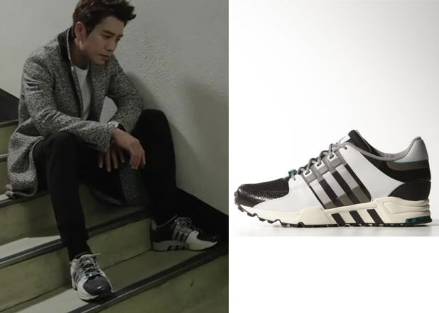 Birth of a Beauty Episode 5: Han Tae-Hee's Black and White Sneakers