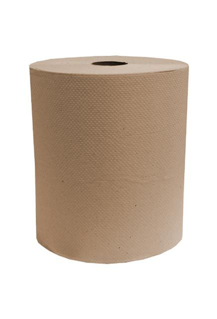 Decor, 425' Brown roll paper towell: 12 rolls of 425' Brown paper towell roll