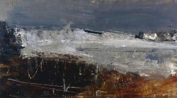 """January Flow Tide"" Joan Eardley"