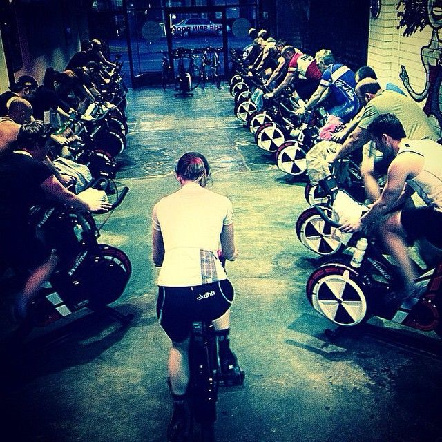 """#Tehran: @spinroom """"a beautiful night out, a full house in... #trainintorideout @teamjaggad #lowimpactexercise #indoorcycling"""