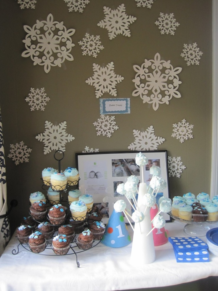 Winter ONEderland – The Twins' First Birthday Party | Twinstructions