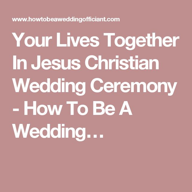 The 25+ best Traditional wedding vows christian ideas on Pinterest ...
