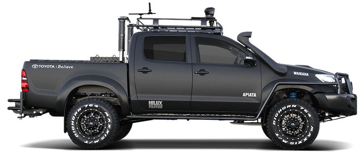 New Zealand Toyota reveal special edition Hilux for hunter Willie Apiata