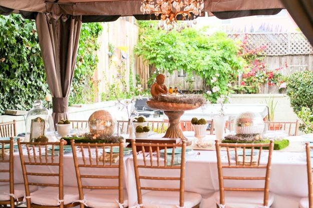 Elegant Table Settings For Outdoor Party Holiday Deco