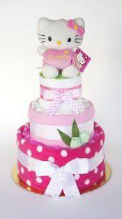 Hello Kitty Bebek Bezi Pastası, Hello kitty Diaper Cake