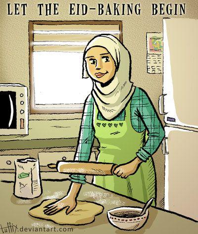 Let the Eid-baking begin by tuffix.deviantart.com on @DeviantArt