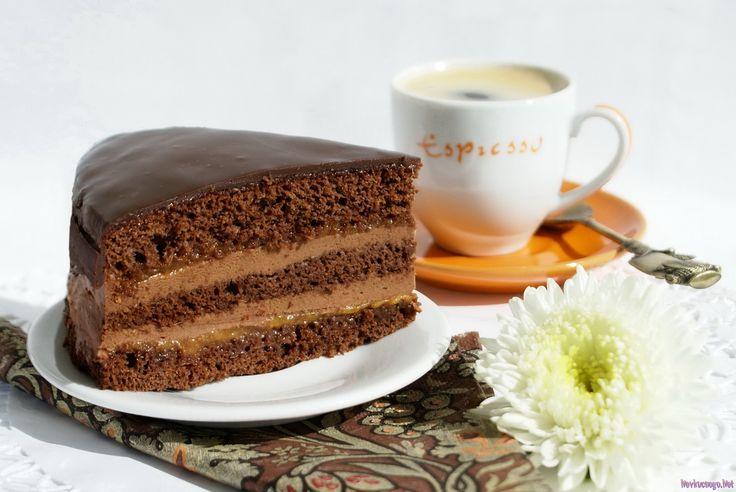 Рецепт торт прага без сметаны