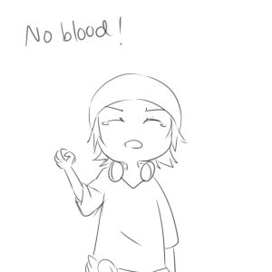 Homra, Misaki. NO BLOOD, NO BONE, NO ASH! ♥