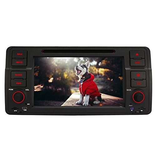 Cheap Pumpkin 7 inch Quad Core Android 5.1 Lollipop Car Stereo Single Din with DVD Player Support GPS DAB  Phone Link Bluetooth Radio 3G WIFI SWC USB SD Subwoofer AUX for BMW E46 Series Best Selling