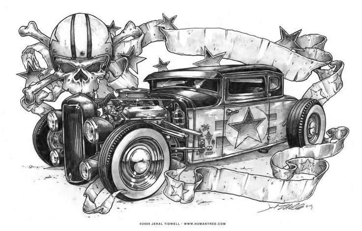 1937 Chevy rat rod wallpaper - ForWallpaper.
